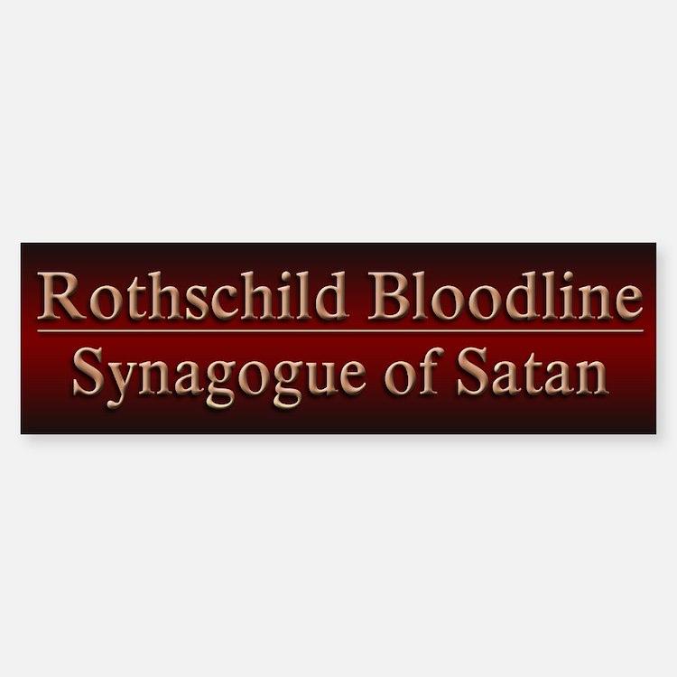 Rothschilds Exposed - Bumper Bumper Sticker