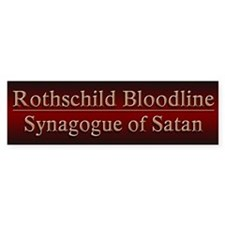 Rothschilds Exposed - Car Sticker