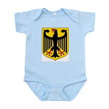 German Coat of Arms  Infant Creeper