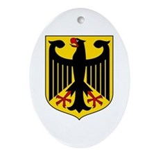 German Coat of Arms  Oval Ornament