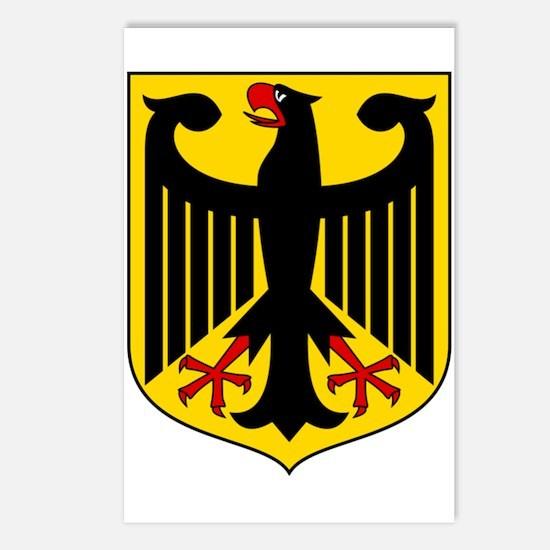 German Coat of Arms  Postcards (Package of 8)