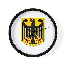 German Coat of Arms  Wall Clock