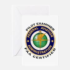 Pilot Examiner Greeting Card