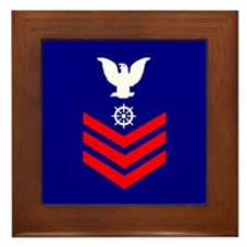 Quartermaster First Class<BR> Framed Tile