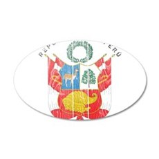 Peru Coat Of Arms Wall Decal