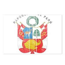 Peru Coat Of Arms Postcards (Package of 8)