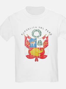 Peru Coat Of Arms T-Shirt