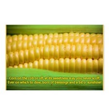 Sweet Corn Blessing Postcards (Package of 8)