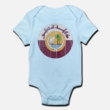 Qatar Coat Of Arms Infant Bodysuit