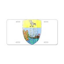 Saint Helena Coat Of Arms Aluminum License Plate