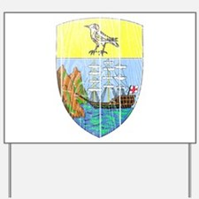 Saint Helena Coat Of Arms Yard Sign