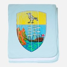 Saint Helena Coat Of Arms baby blanket