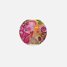 Bubble Gum Mood Mini Button