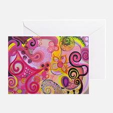 Bubble Gum Mood Greeting Card