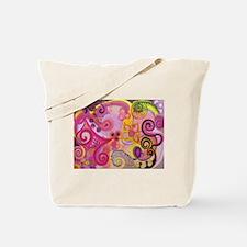 Bubble Gum Mood Tote Bag