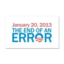 The End Of An Error Car Magnet 20 x 12