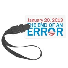 The End Of An Error Luggage Tag