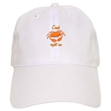 Crab Right On Baseball Cap