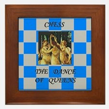 The Dance of Queens  Framed Tile