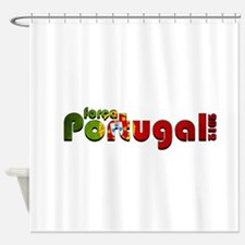 FORCA PORTUGAL EURO 2012 Shower Curtain