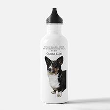 Corgi Dad Water Bottle