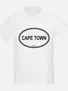 Cape Town, South Africa euro Kids T-Shirt
