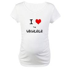 I HEART the UKULELE Shirt