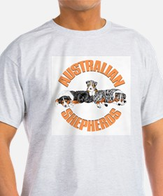 Lounging Aussies T-Shirt