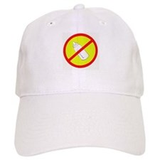 not bottle fed circle slash Baseball Cap