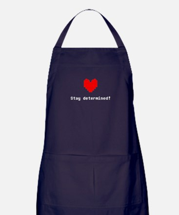 Stay Determined Apron (dark)