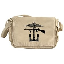 Combined Operations B-W Messenger Bag