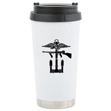 Combined Operations B-W Thermos Mug