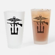 Combined Operations B-W Drinking Glass