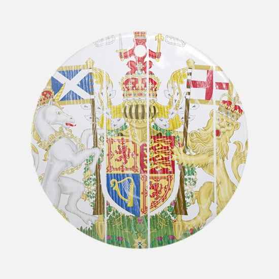 Scotland Coat Of Arms Ornament (Round)