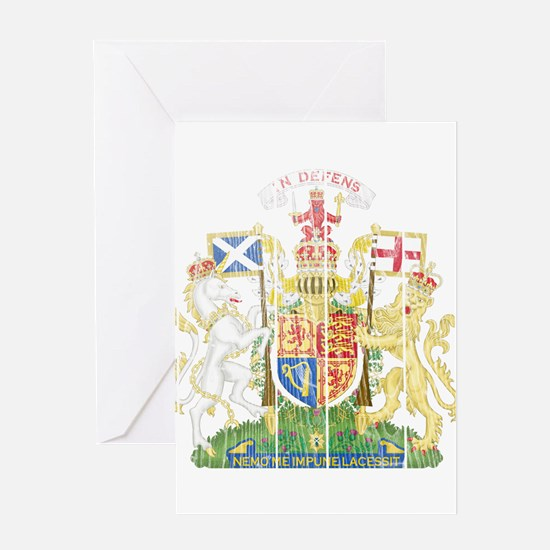 Scotland Coat Of Arms Greeting Card