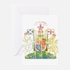 Scotland Coat Of Arms Greeting Cards (Pk of 10)