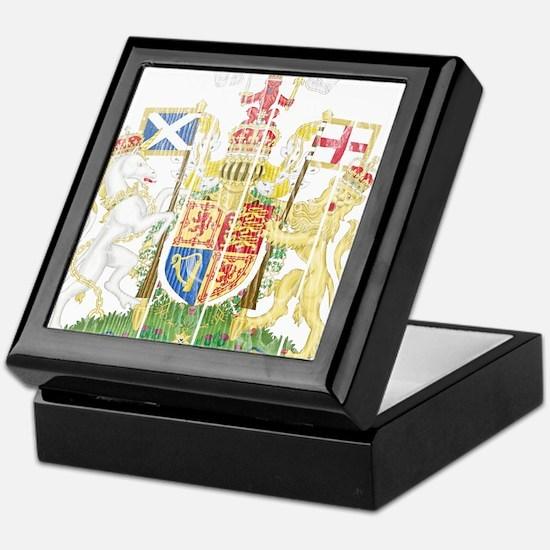 Scotland Coat Of Arms Keepsake Box