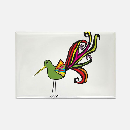Wild Bird Rectangle Magnet