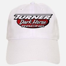 turner dark horse racing logo Baseball Baseball Cap