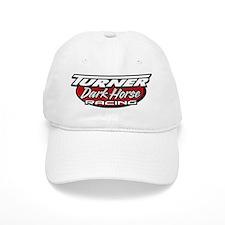 turner dark horse racing logo Baseball Cap