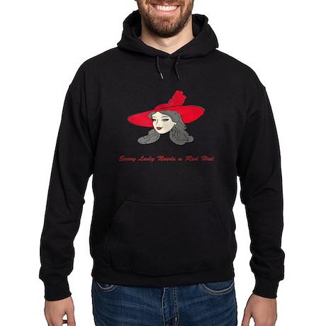 Red Hat Lady 2 Hoodie (dark)