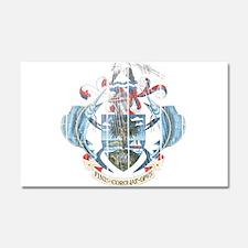 Seychelles Coat Of Arms Car Magnet 20 x 12
