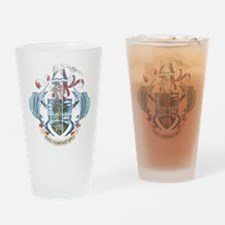 Seychelles Coat Of Arms Drinking Glass