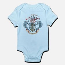 Seychelles Coat Of Arms Infant Bodysuit