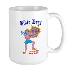 BIBLE DOGS Large Mug