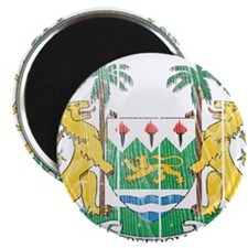 "Sierra Leone Coat Of Arms 2.25"" Magnet (100 pack)"
