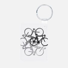 Bicycle circle Keychains