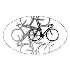 Bicycle circle Decal