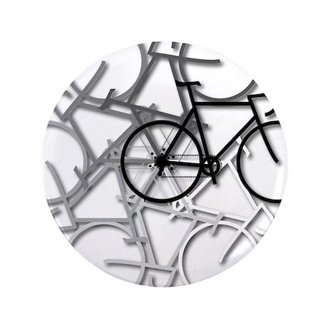 "Bicycle circle 3.5"" Button"