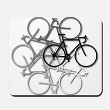 Bicycle circle Mousepad